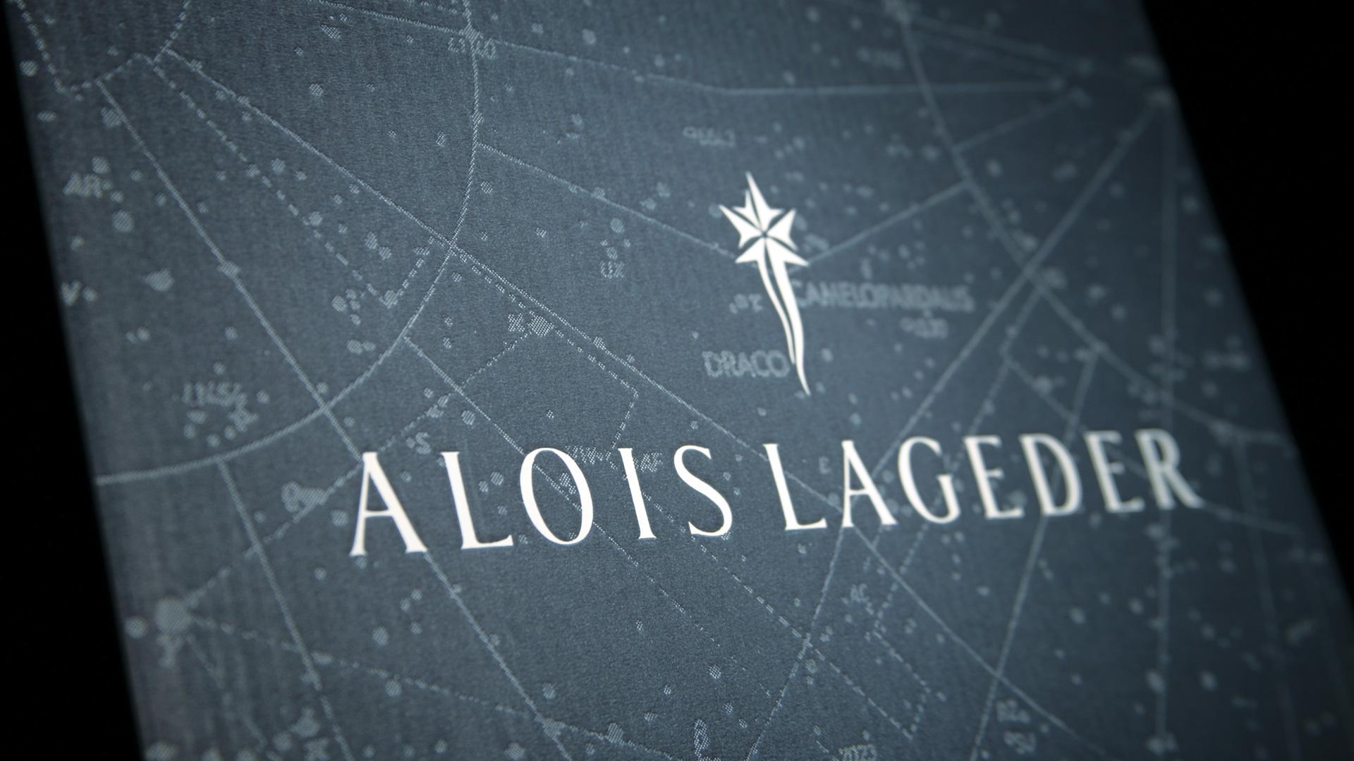 Alois Lageder applicazione brand