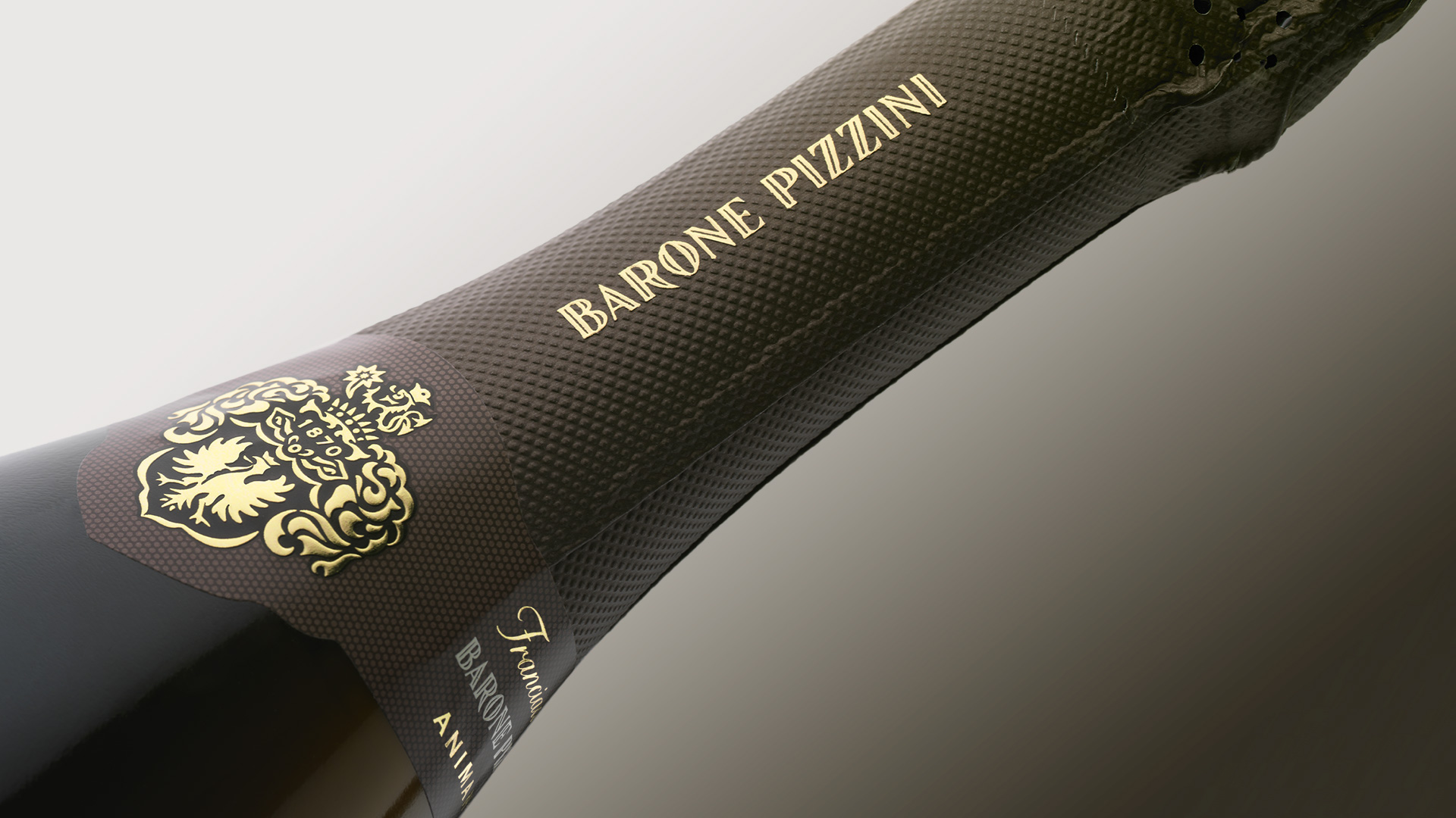 Barone Pizzini capsula branding