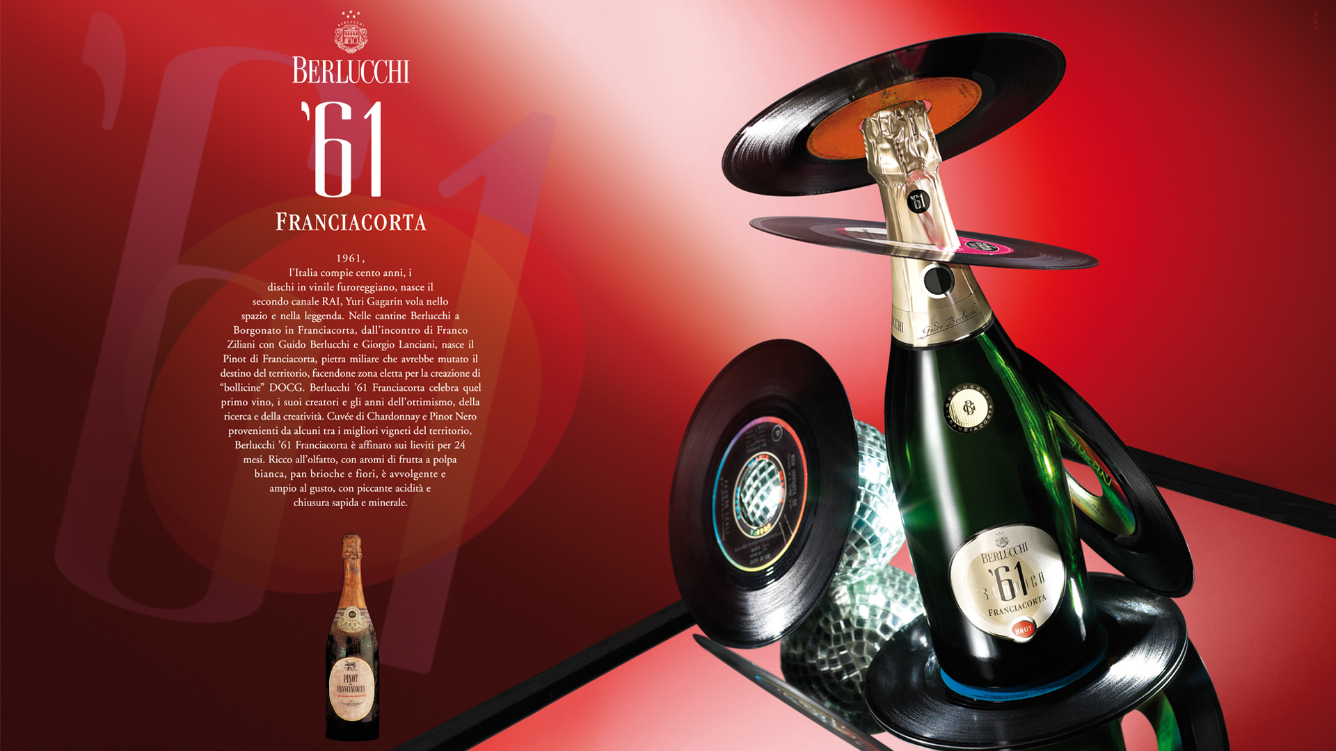 Berlucchi 61 adv global design