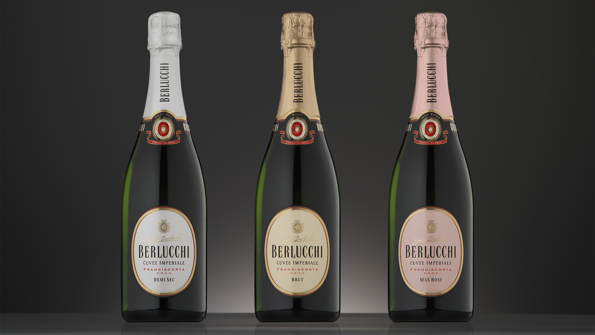 Guido Berlucchi linea Cuvée Imperiale restyling
