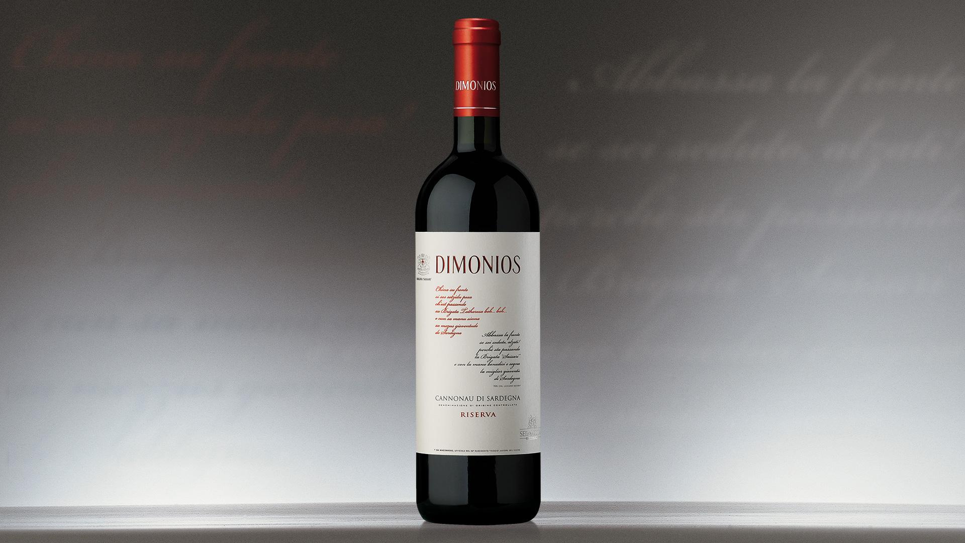 Campari Wines Dimonios packaging
