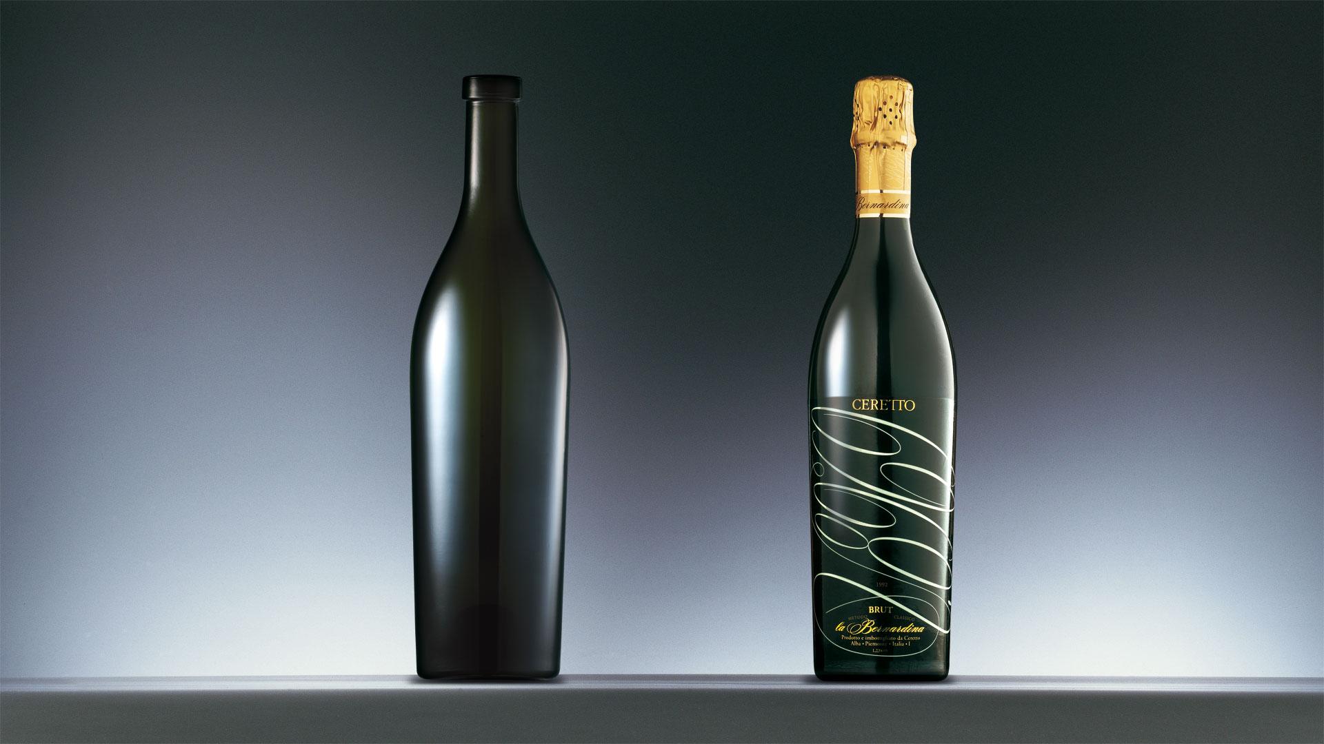 Ceretto La Bernardina bottle design