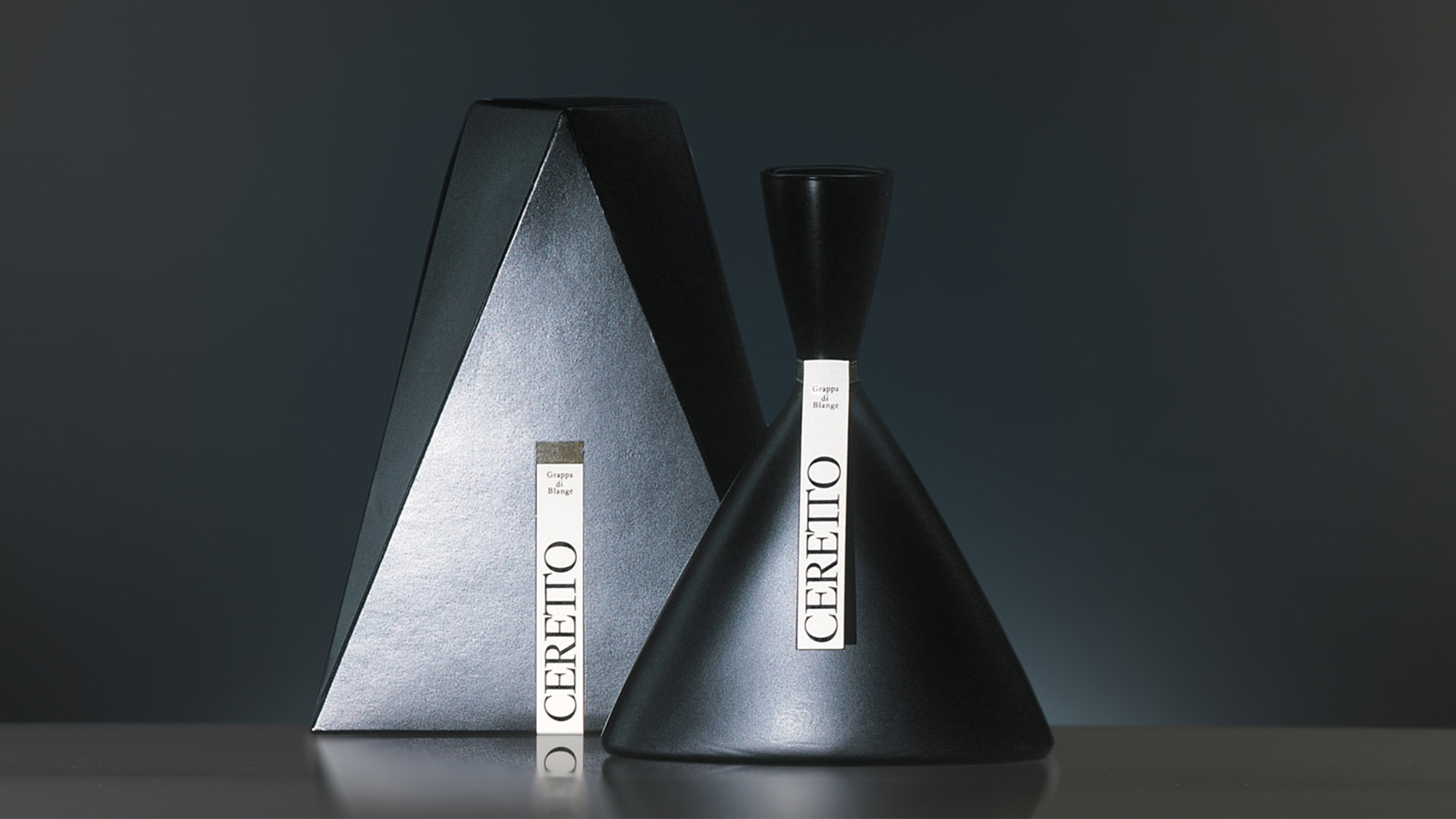 Ceretto bottle design