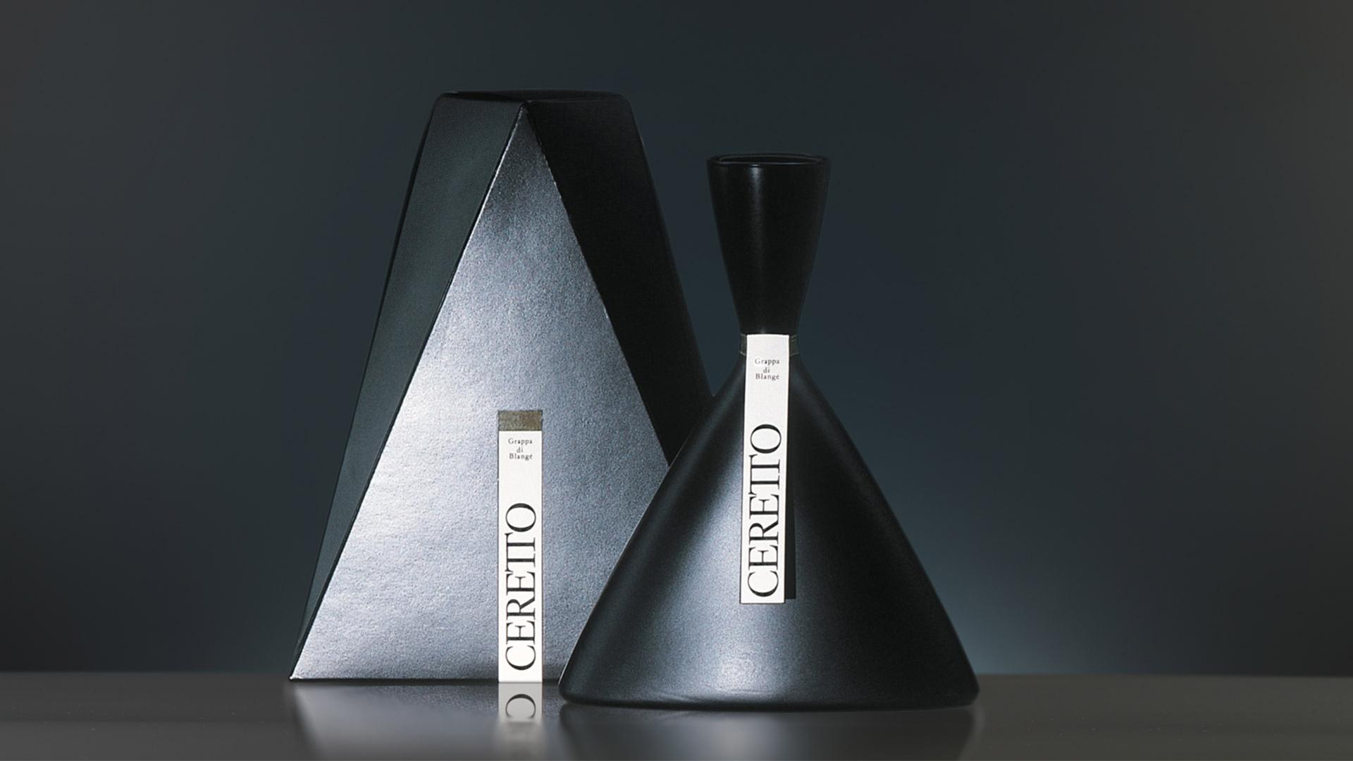 Ceretto bottle design