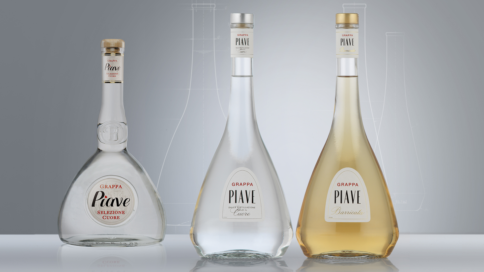 Distillerie Franciacorta Grappa Piave restyling