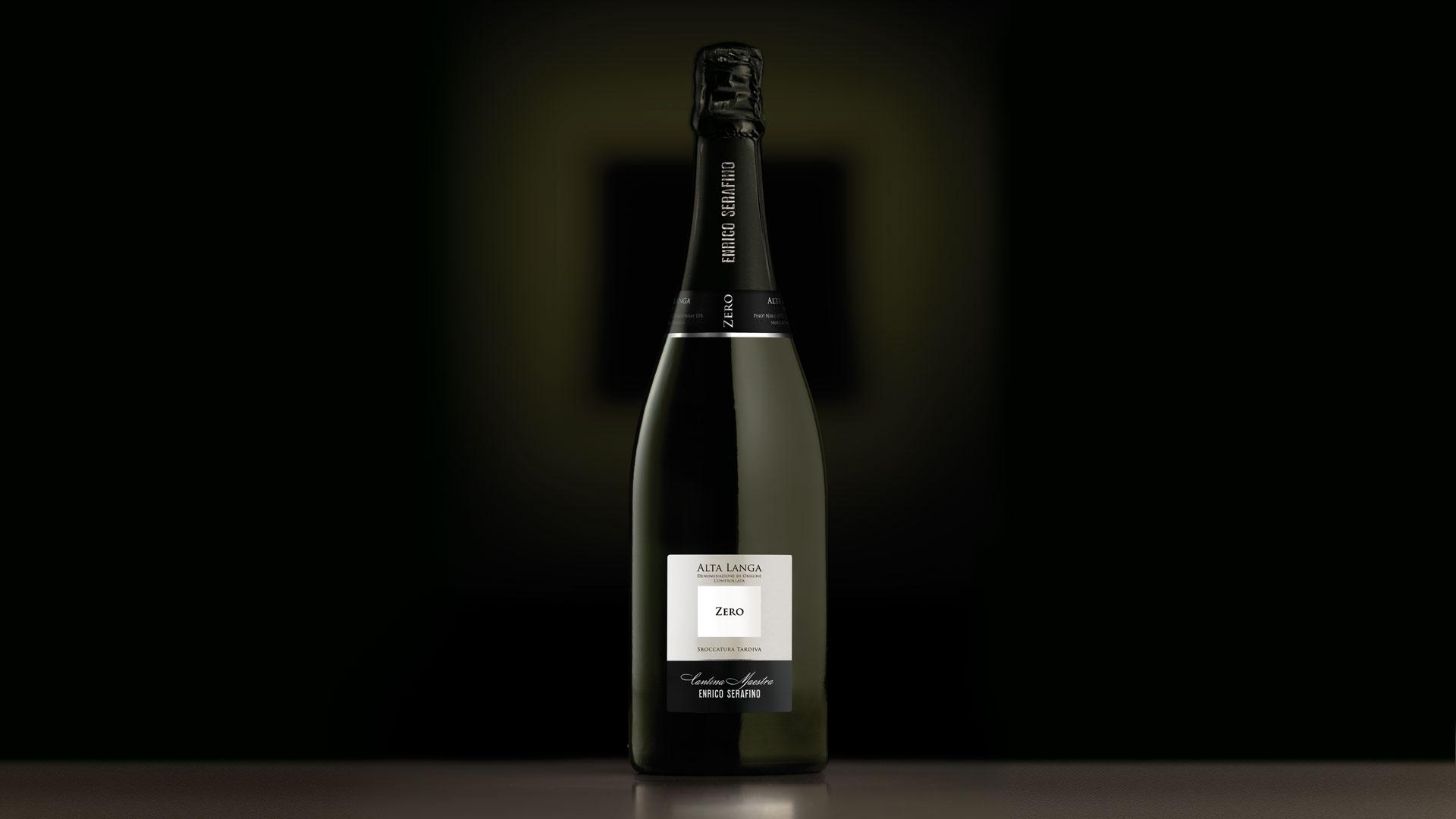 Campari Wines Enrico Serafino packaging Alta Langa Zero