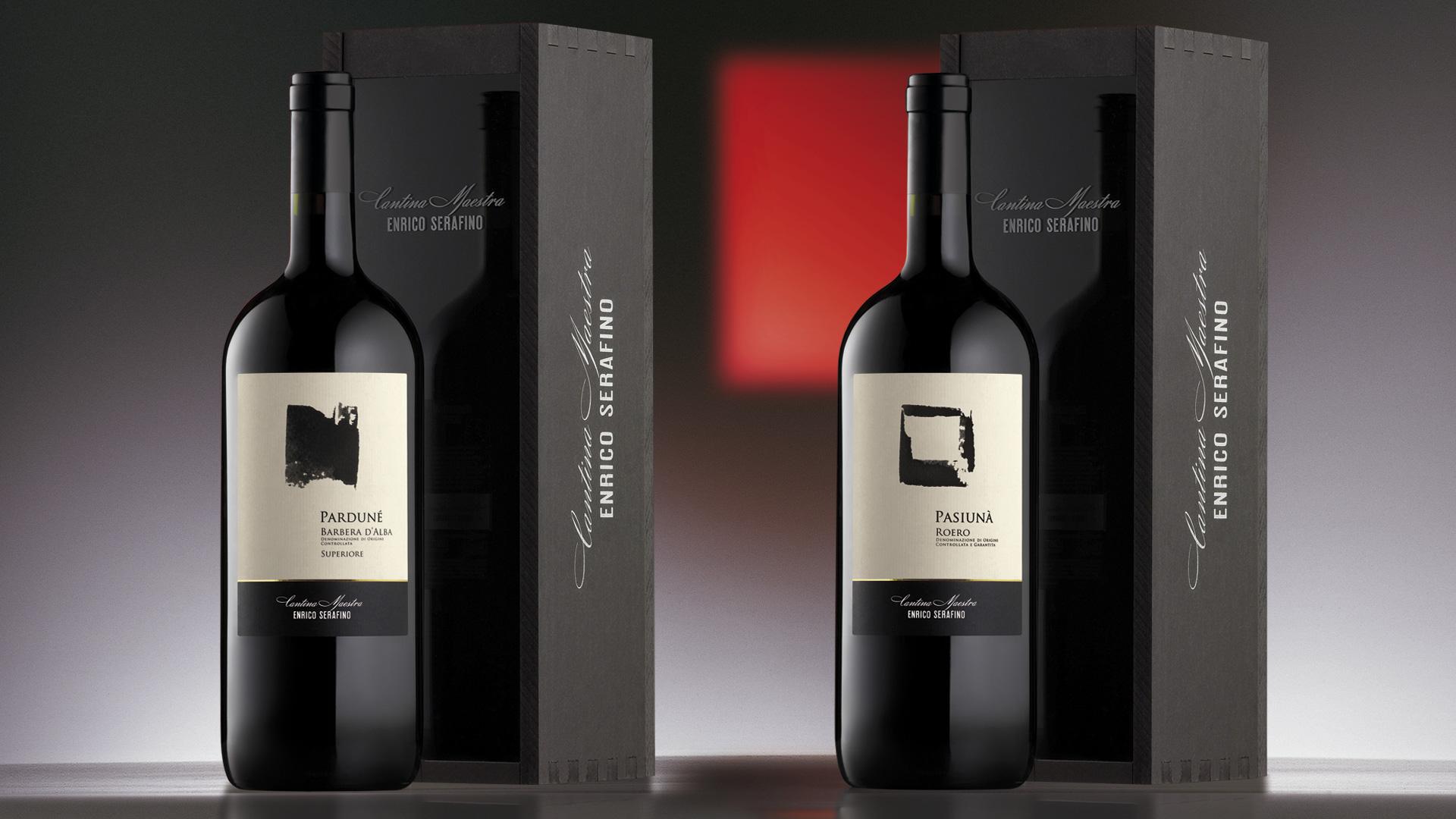 Campari Wines Enrico Serafino packaging Classici Top