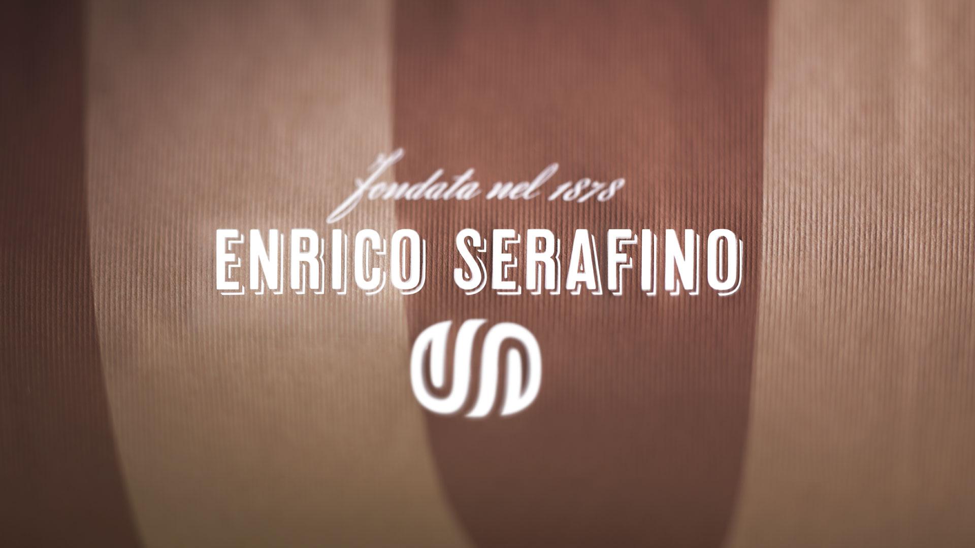 Enrico Serafino applicazione brand