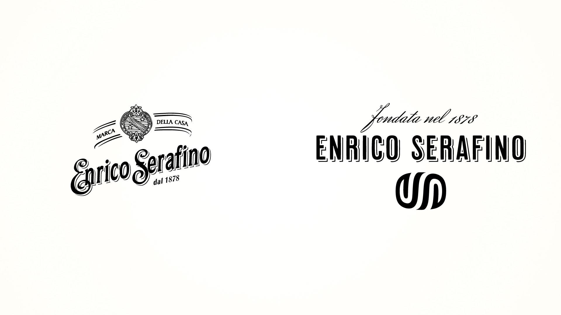Enrico Serafino brand restyling