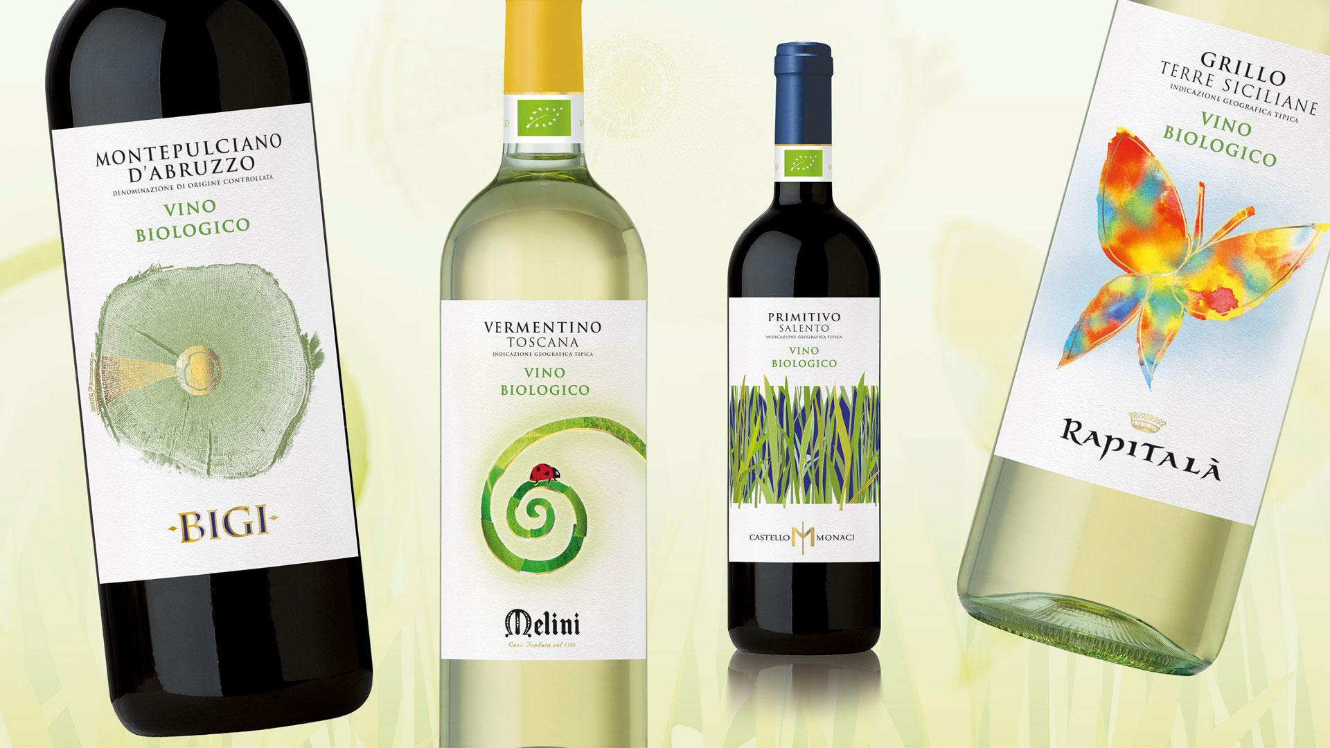 Gruppo Italiano Vino Progetto Biologico Italiano packaging