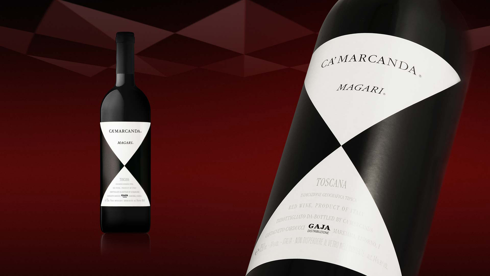 Gaja Ca Marcanda Packaging
