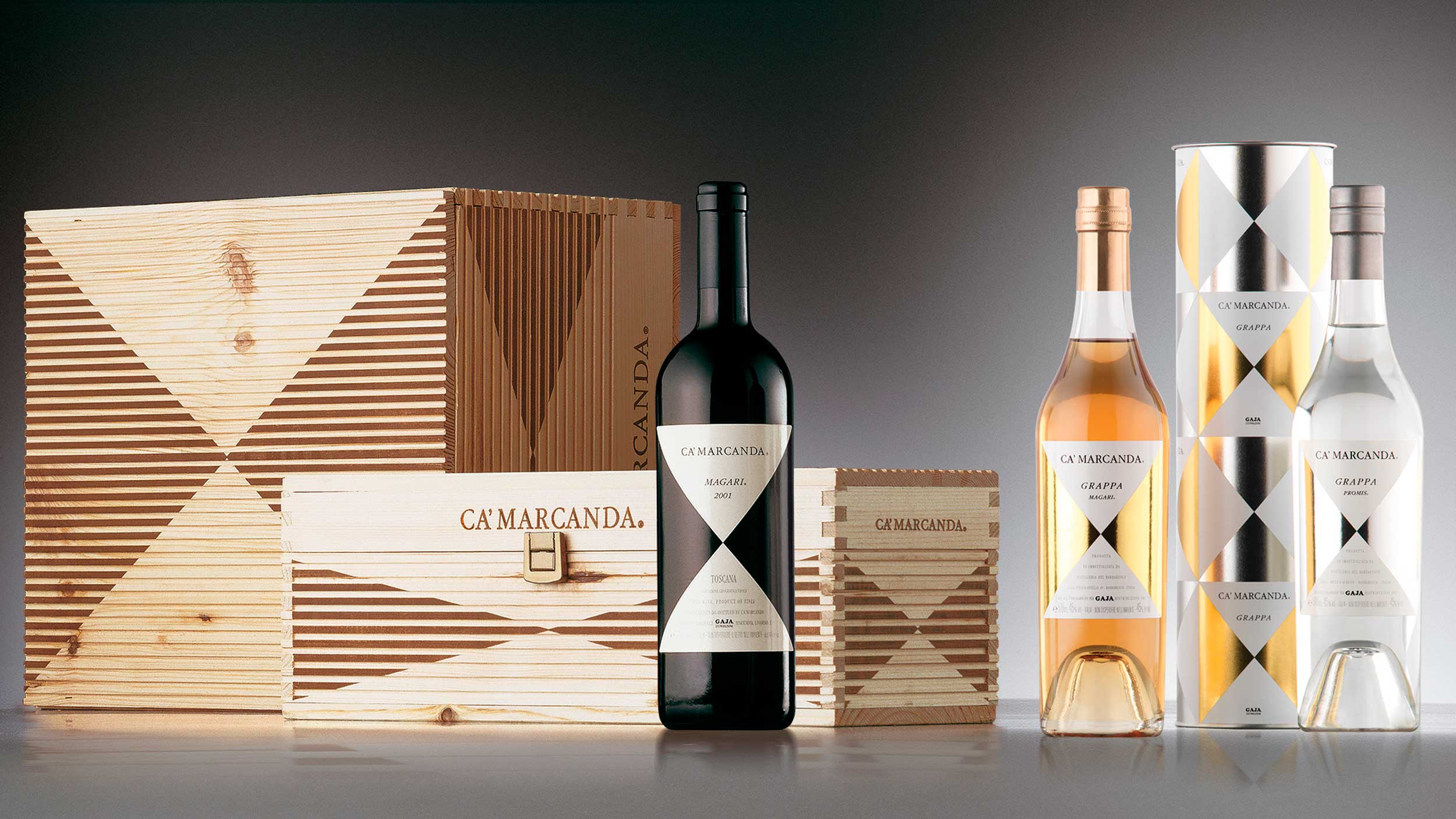 Gaja Ca Marcanda secondary packaging