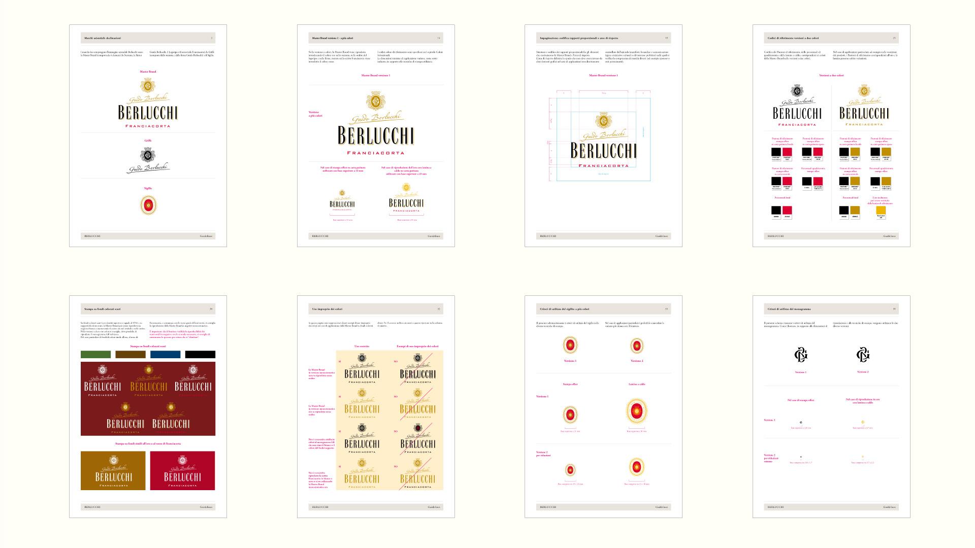 Guido Berlucchi manuale della brand