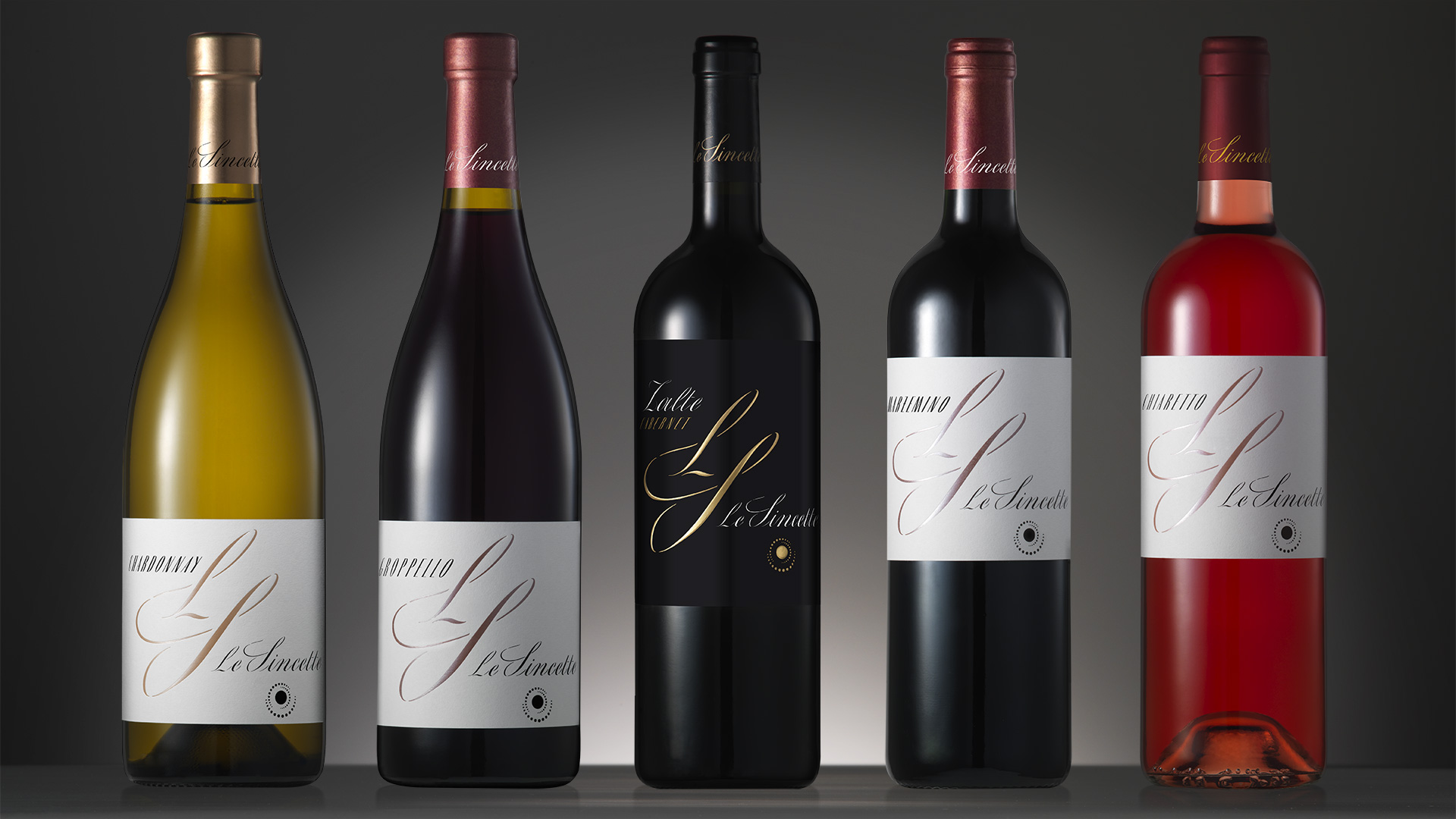 Le Sincette linea vino global design