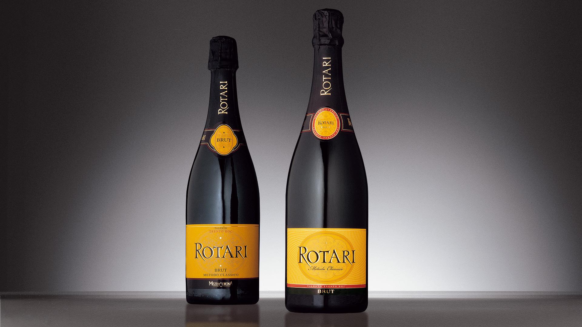 Mezzacorona Rotari bottiglie GDO restyling