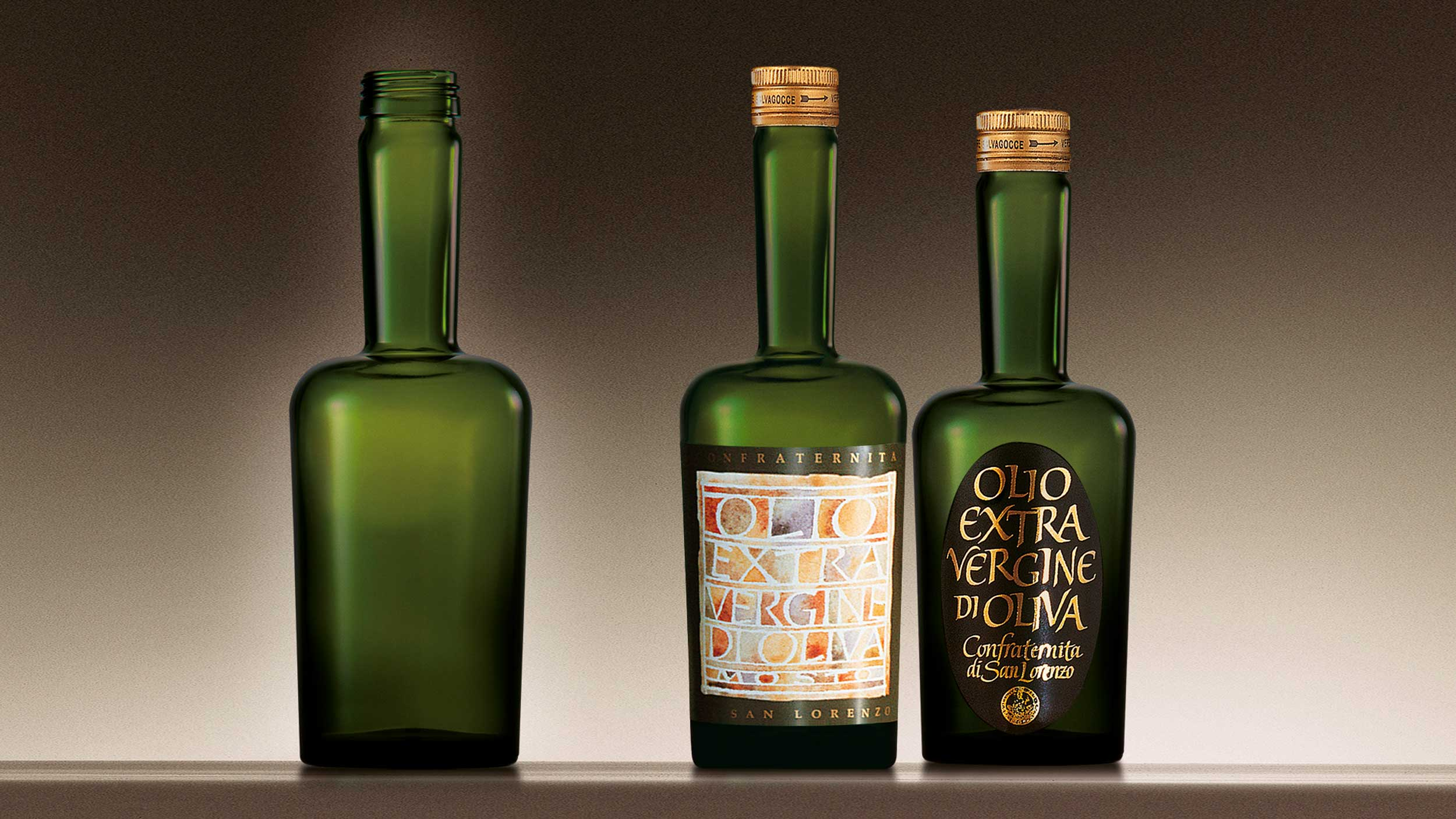 Confraternita di San Lorenzo bottle design