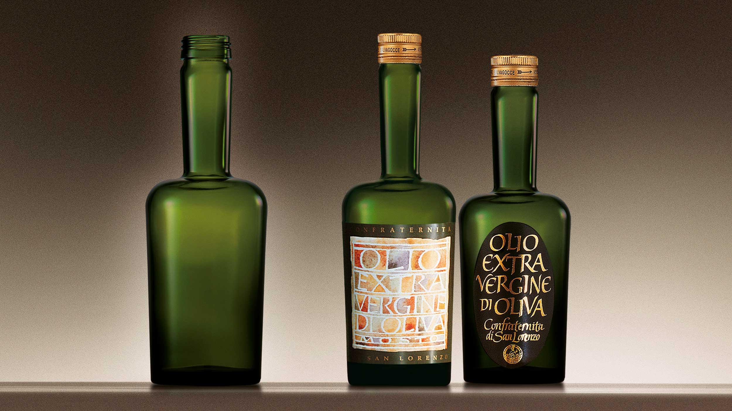 Confraternita di San Lorenzo bottle design