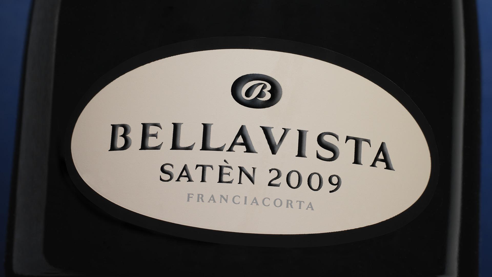 Terra Moretti Bellavista Satèn closeup