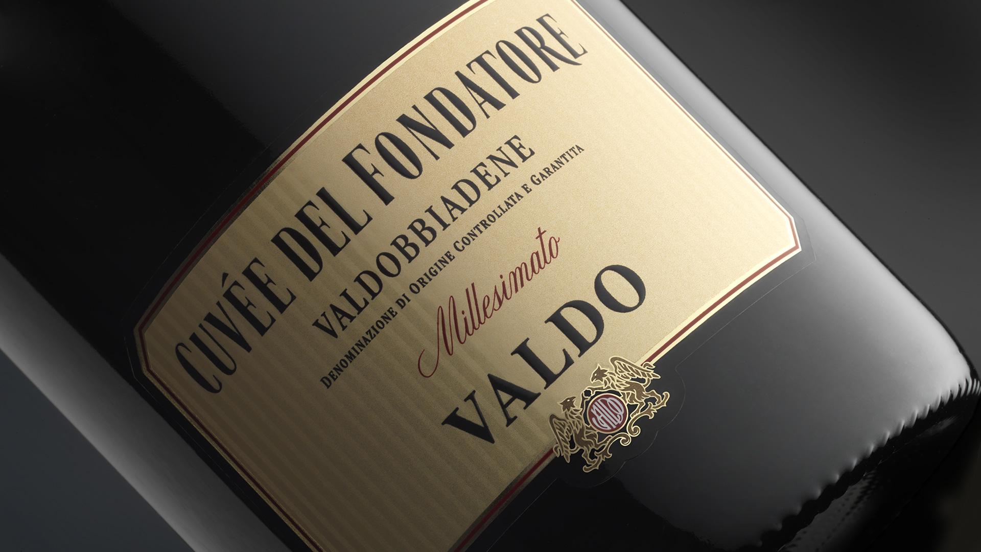Valdo Cuveè del Fondatore closeup restyling