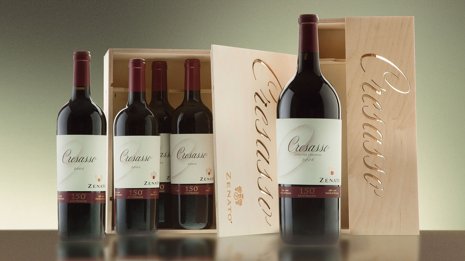 Zenato Cresasso packaging