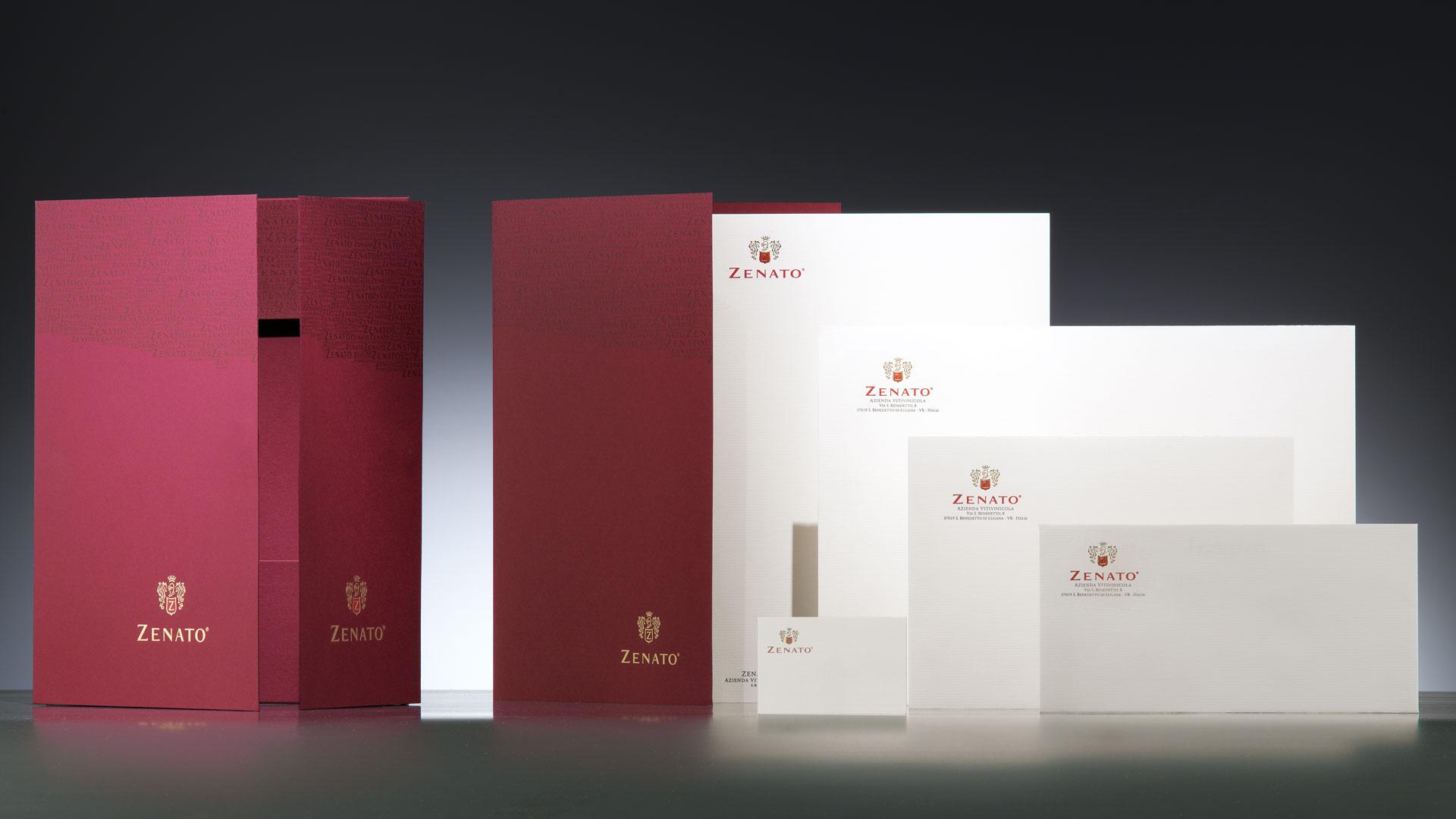 Zenato coordinati branding