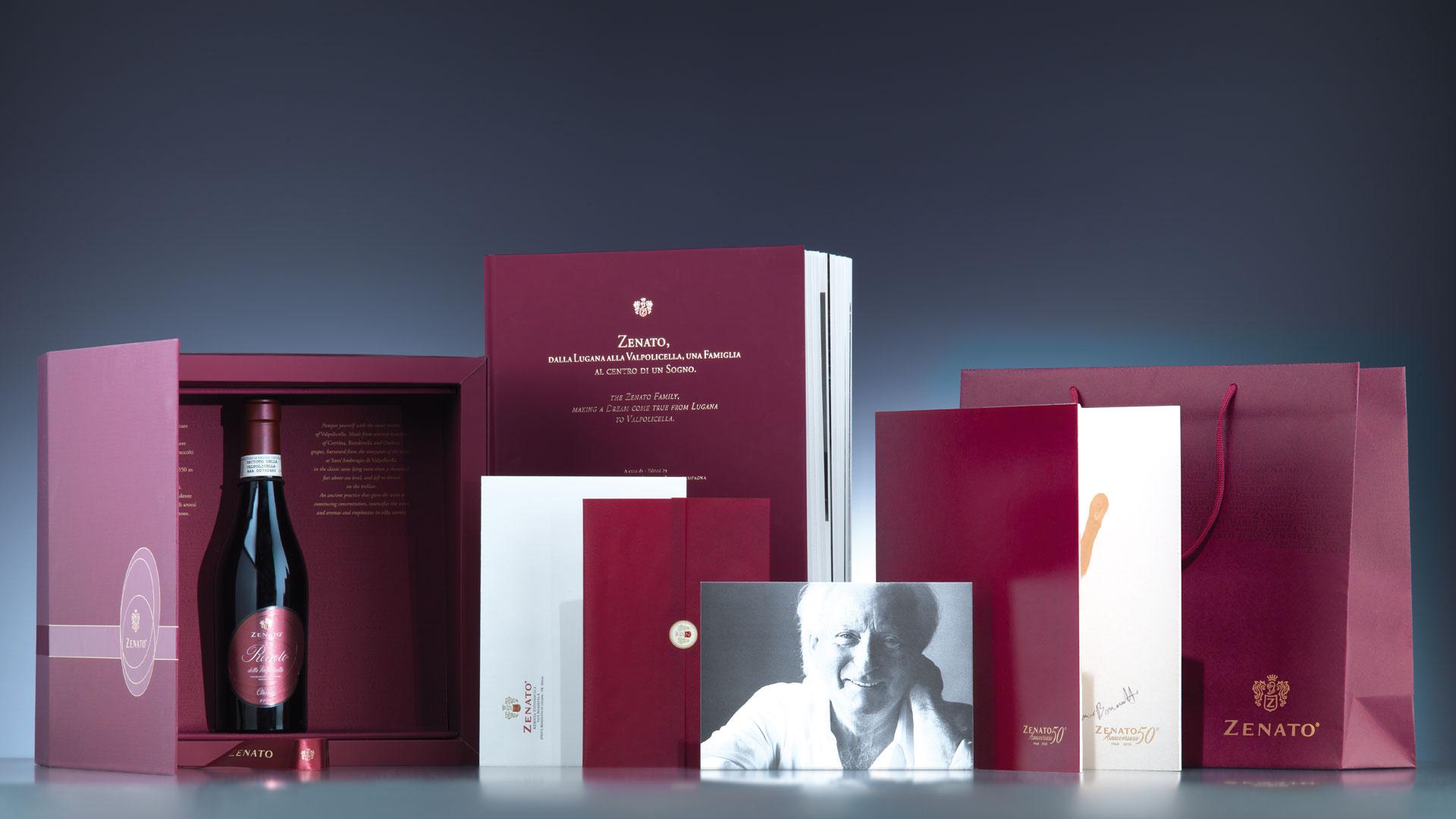 Zenato 50 anniversario coordinati global design