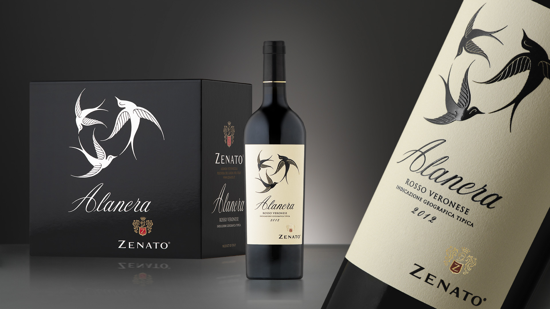 Zenato Alanera packaging