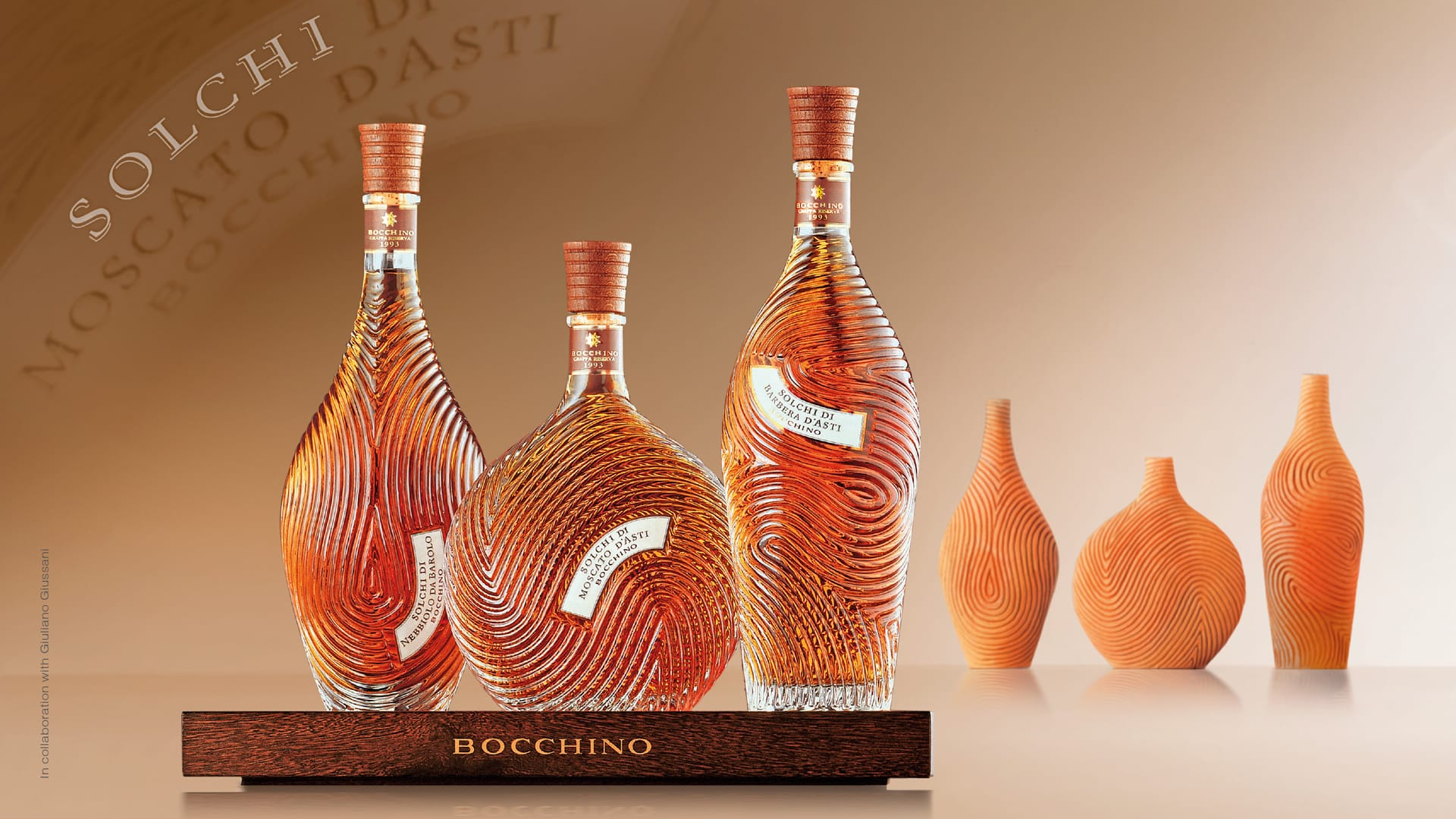 Bocchino Cantina Privata bottle design