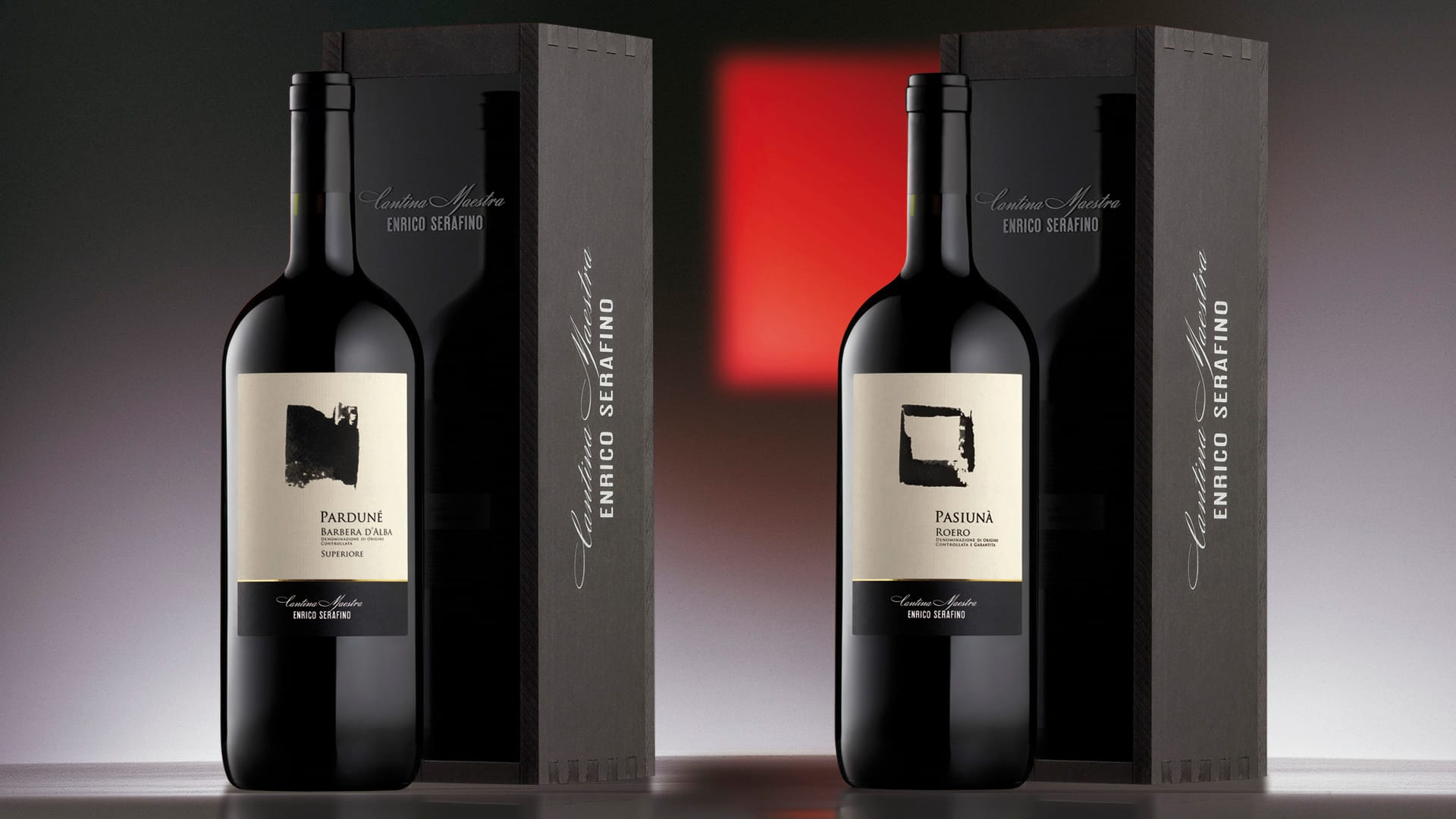 Campari Wines Enrico Serafino packaging Classici Top