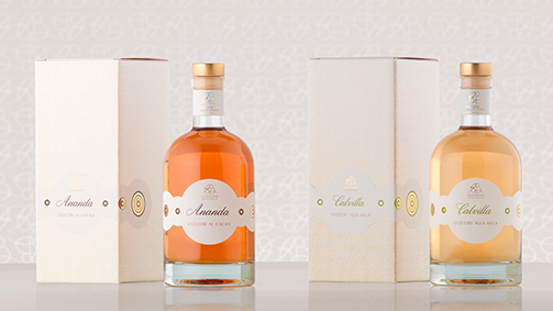 Packaging e confezioni - linea Liquori di AB Selezione