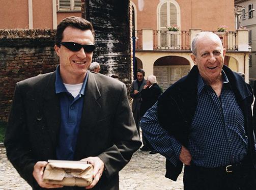 Gino Veronelli e Gian Arturo Rota