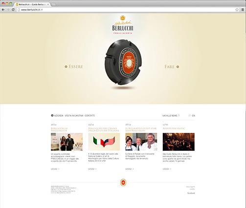 Berlucchi homepage