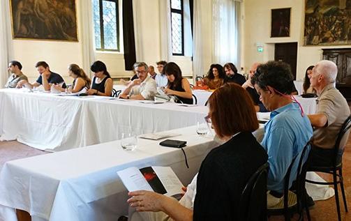 Alta Scuola Italiana di Gastronomia Luigi Veronelli conferenza stampa